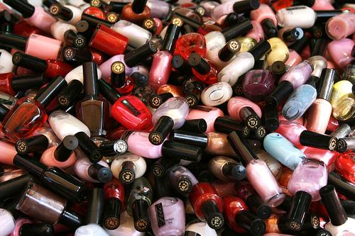 Easy & Inexpensive Nail Polish Storage | Makeup By RenRen